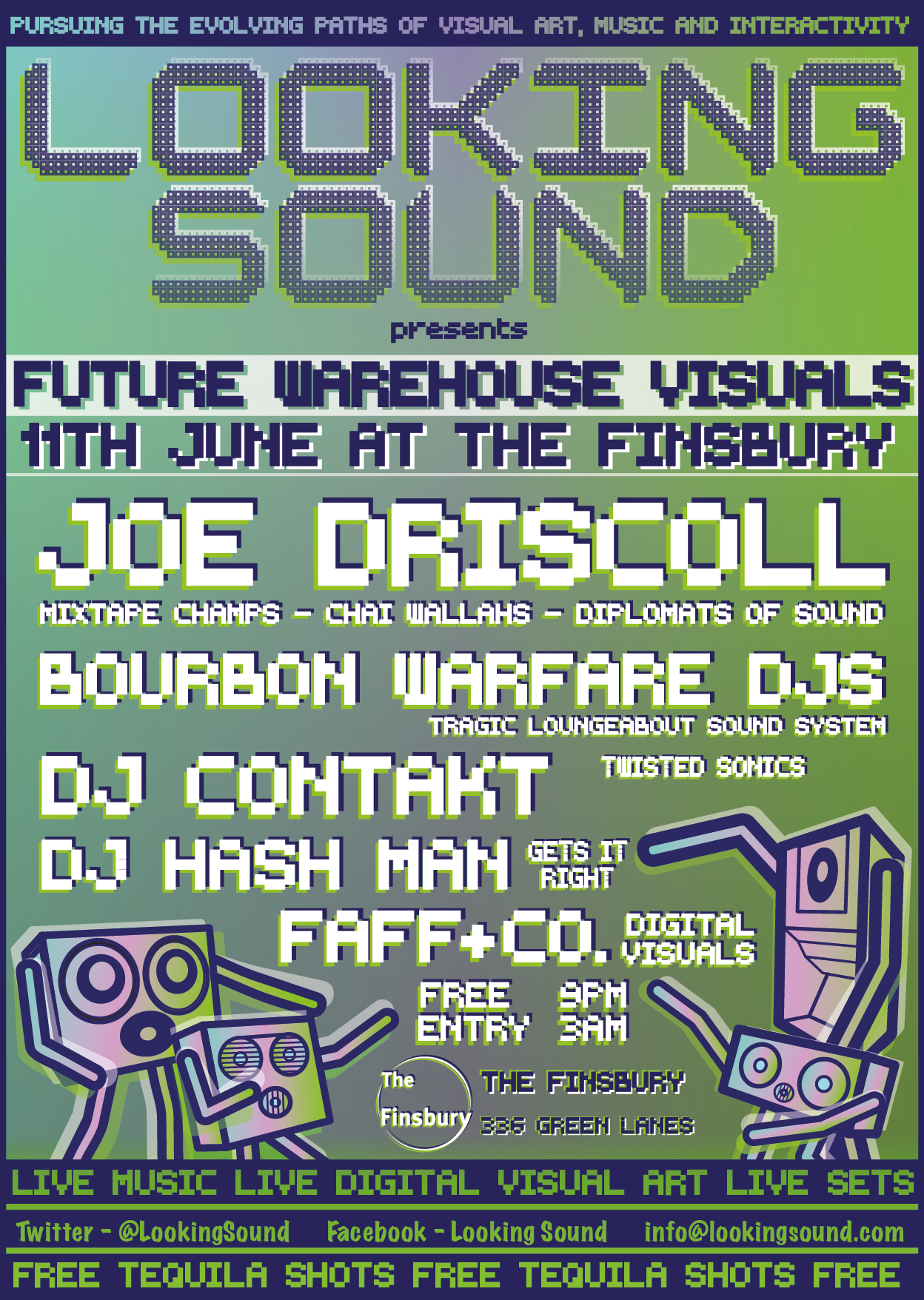 NEXT LOOKING SOUND 11th June - Finsbury Pub near manor house tube